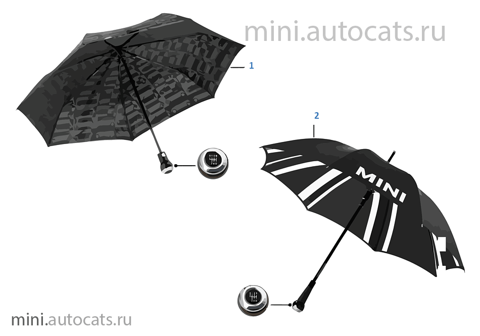 Зонтики MINI Essentials 13/14