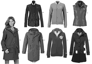 MINI Collection-Damen Jacke/Weste2011/12